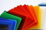 Цветной пластик для поделок 154